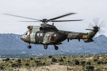 HT.21-14 - Spain - Army Aerospatiale AS332 Super Puma