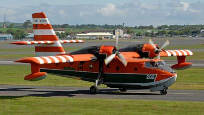 C-FAYN - Buffalo Airways Canadair CL-215
