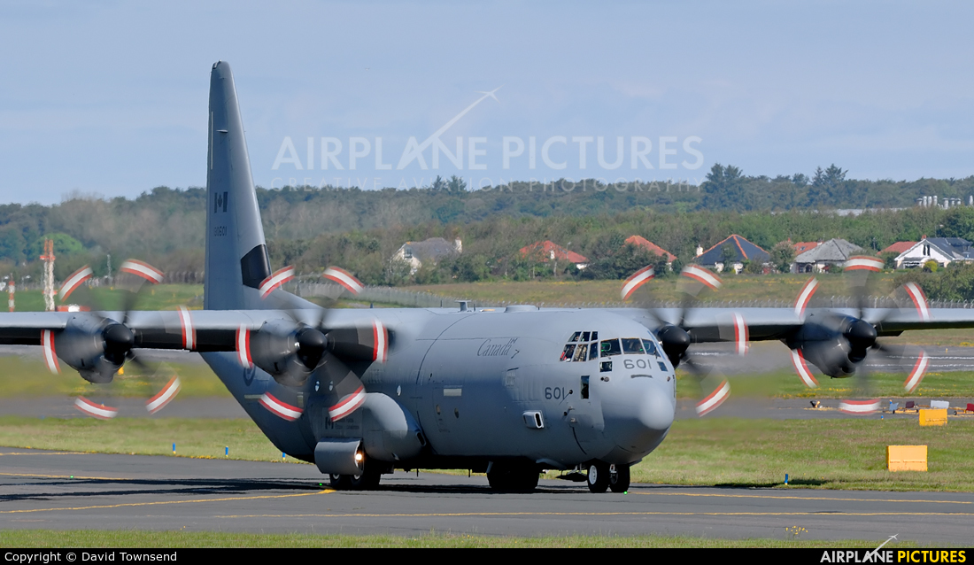 Canada - Air Force 130601 aircraft at Prestwick