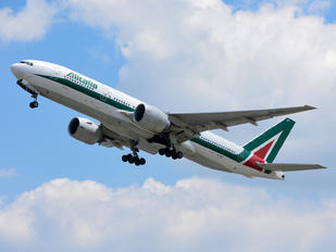 EI-ISO - Alitalia Boeing 777-200ER