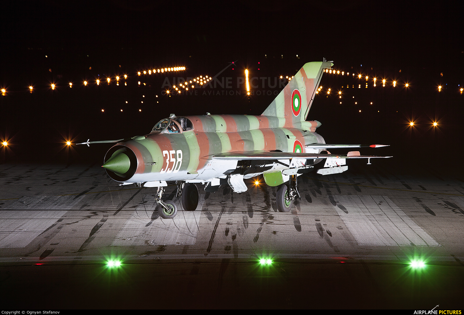 Bulgaria - Air Force 358 aircraft at Graf Ignatievo
