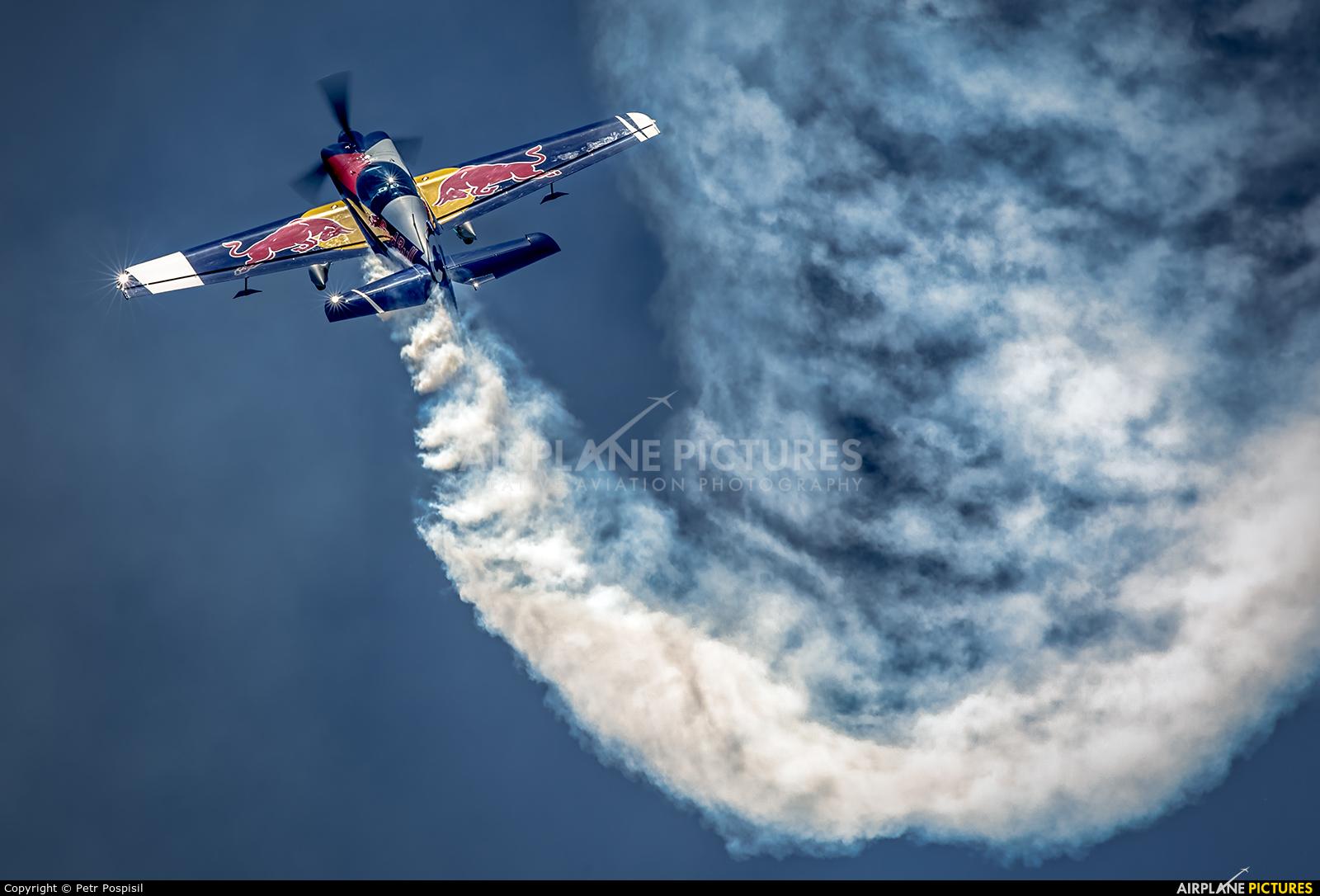 The Flying Bulls : Aerobatics Team OK-FBC aircraft at Pardubice