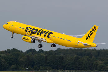 D-AVZF - Spirit Airlines Airbus A321