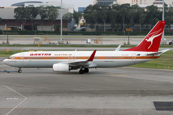 VH-XZP - QANTAS Boeing 737-800