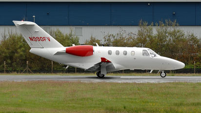 N990FV - Private Cessna 525 CitationJet