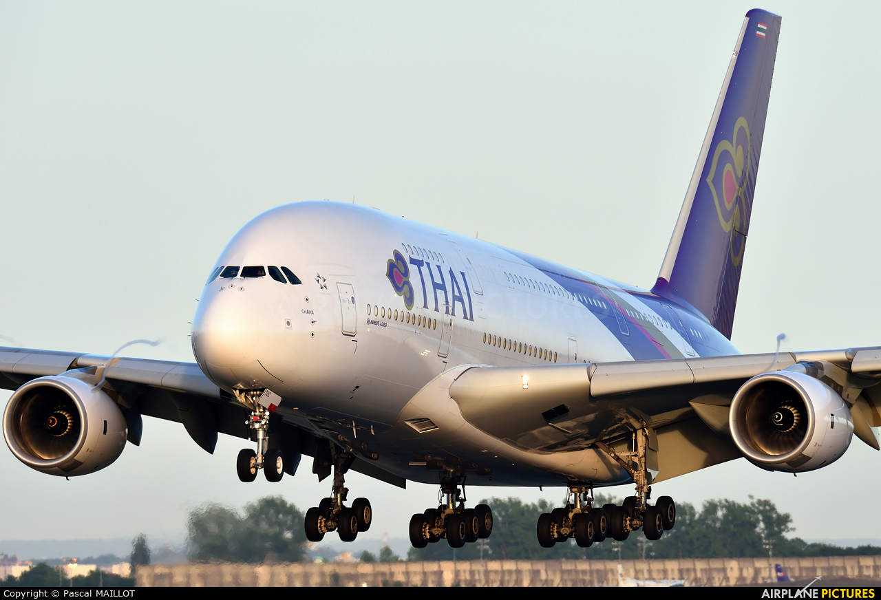 Thai Airways HS-TUC aircraft at Paris - Charles de Gaulle