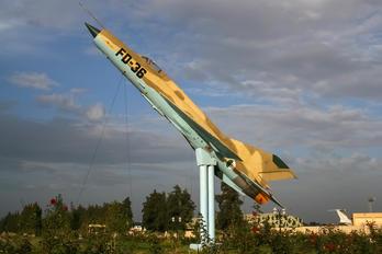 FD-36 - Algeria - Air Force Mikoyan-Gurevich MiG-21bis