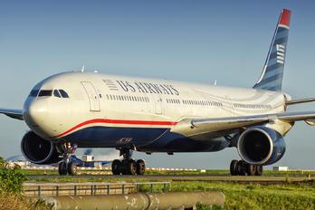 N277AY - US Airways Airbus A330-300