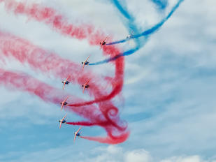 """- - France - Air Force """"Patrouille de France"""" Dassault - Dornier Alpha Jet E"""