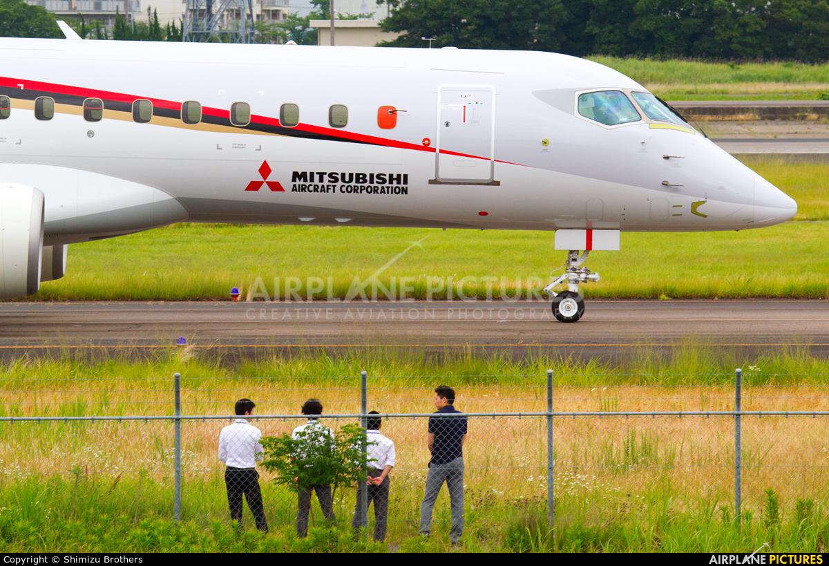 ja21mj - mitsubishi aircraft corporation mitsubishi mrj90 at nagoya
