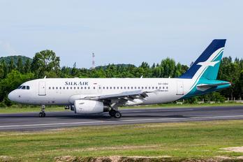 9V-SBH - SilkAir Airbus A319