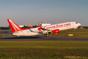 TC-TJP - Corendon Airlines Boeing 737-800 aircraft