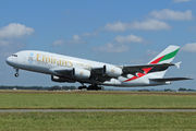A6-EOI - Emirates Airlines Airbus A380 aircraft