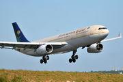 HZ-AQH - Saudi Arabian Airlines Airbus A330-300 aircraft