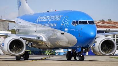 LV-CMK - Aerolineas Argentinas Boeing 737-700
