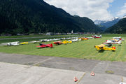 LSPM - - Airport Overview - Airport Overview - Apron aircraft
