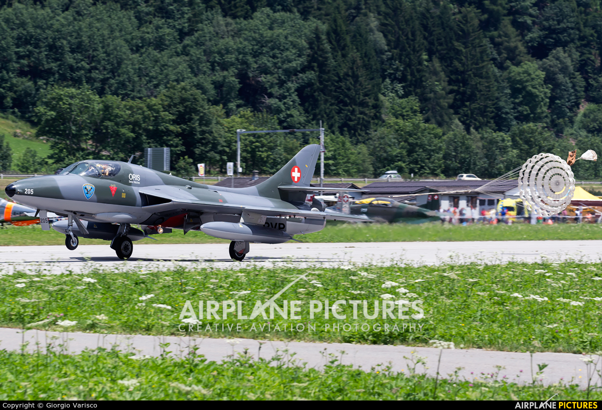 Fliegermuseum Altenrhein HB-RVP aircraft at Ambri