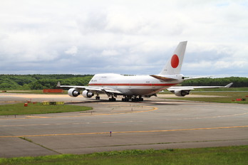 20-1122 - Japan - Air Self Defence Force Boeing 747-400