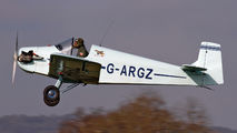 G-ARGZ - Private Druine D.31 Turbulent aircraft