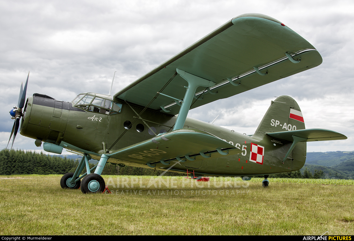 Private SP-AOO aircraft at Wiltz-Noertrange