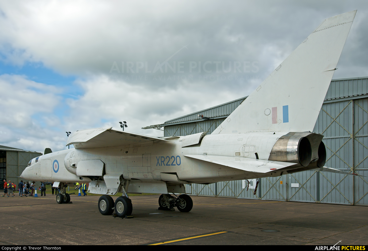 Royal Air Force XR220 aircraft at Cosford - RAF Museum