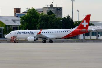 OE-IXG - Helvetic Airways Embraer ERJ-190 (190-100)