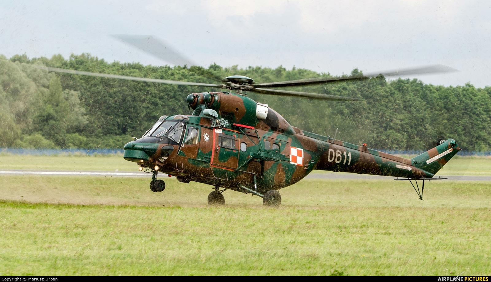 Poland - Army 0611 aircraft at Dęblin