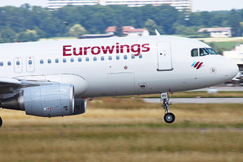 D-AIZU - Eurowings Airbus A320