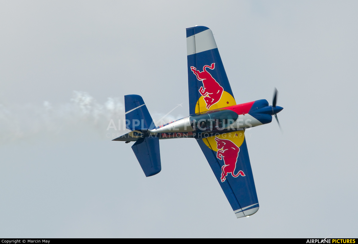 The Flying Bulls : Aerobatics Team OK-FBC aircraft at Leszno - Strzyżewice
