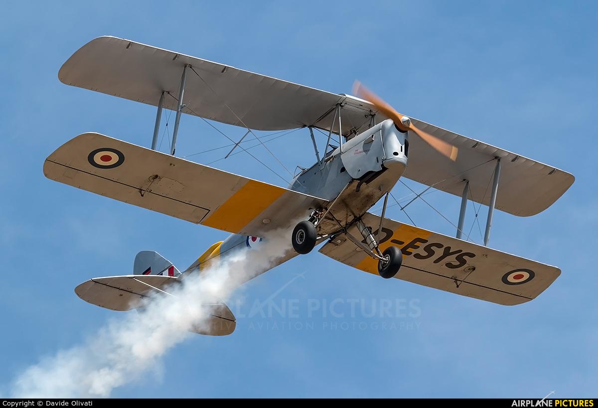Private D-ESYS aircraft at Montagnana