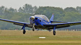 Private Rockwell Commander 112 G-ERIC at Lashenden / Headcorn airport