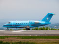 Maersk Canadair CL-600 Challenger 604 OY-MMM at La Coruña airport