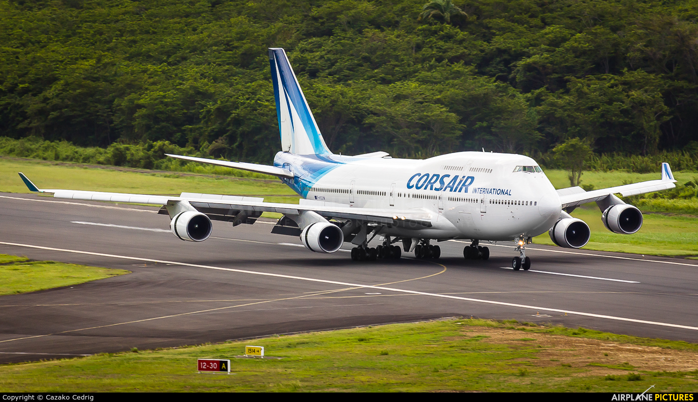 Corsair / Corsair Intl F-HSUN aircraft at Guadeloupe - Pointe-à-Pitre