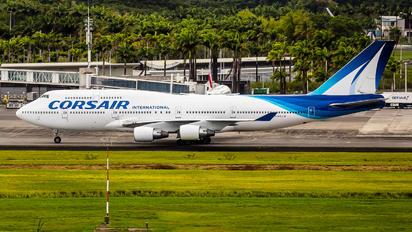 F-HSUN - Corsair Boeing 747-400