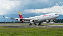 EC-INO - Iberia Airbus A340-600 aircraft