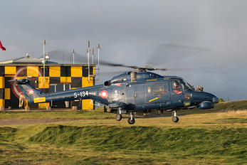 S-134 - Denmark - Air Force Westland Lynx mk.90