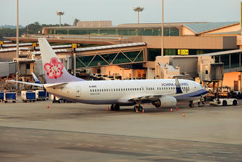 B-18601 - China Airlines Boeing 737-800