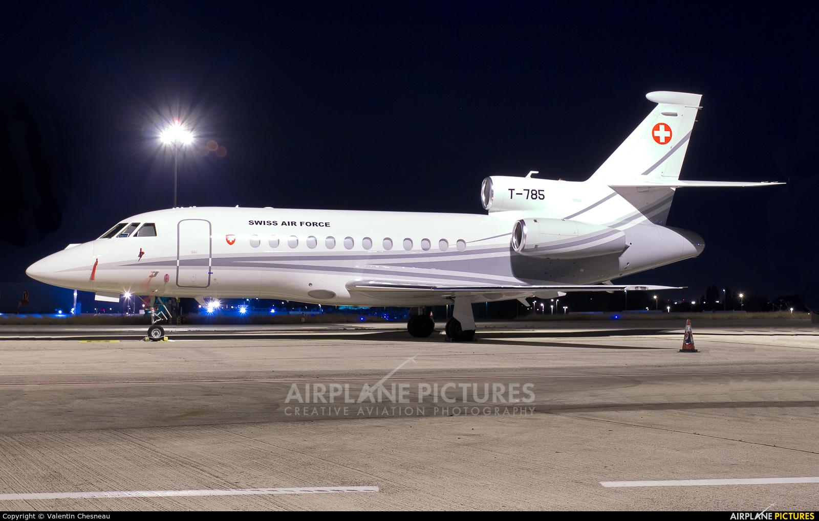 Switzerland - Air Force T-785 aircraft at Paris - Charles de Gaulle