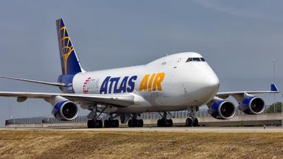 N408MC - Atlas Air Boeing 747-400F, ERF