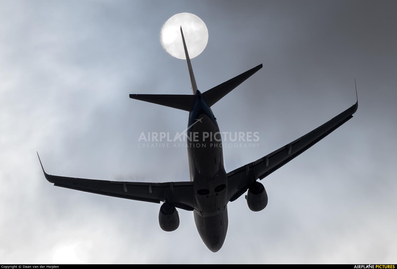 KLM PH-BGW aircraft at Amsterdam - Schiphol