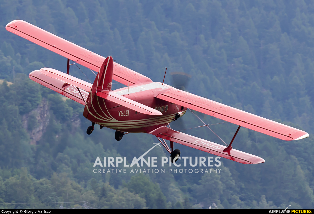 Private YL-LEI aircraft at Ambri