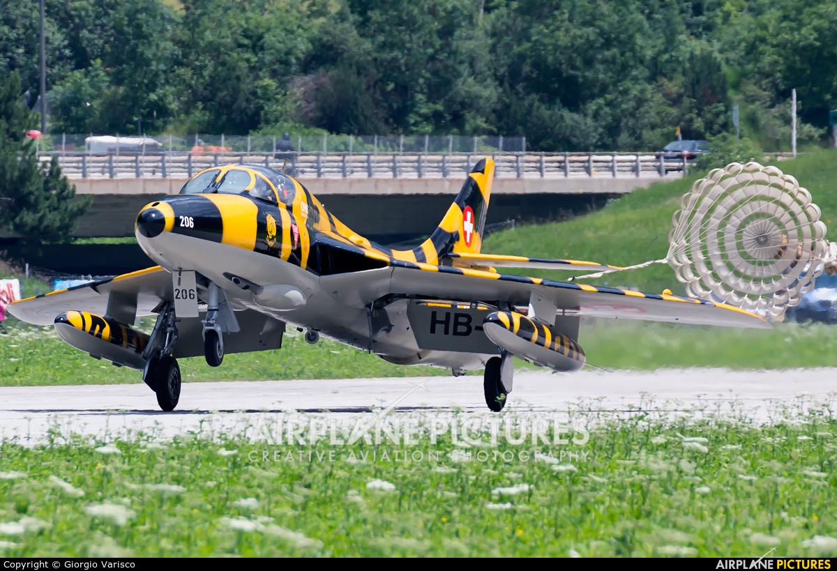 Private HB-RVV aircraft at Ambri