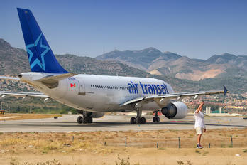C-GTSY - Air Transat Airbus A310