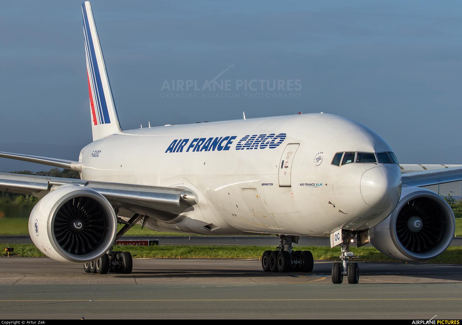 Air France Cargo F-GUOC aircraft at Dublin