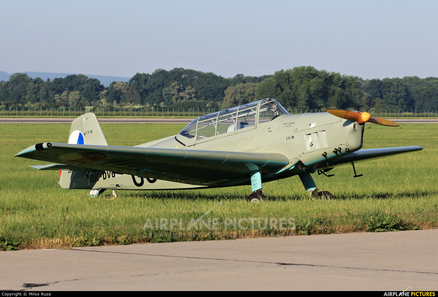 Private OK-DVG aircraft at Pardubice