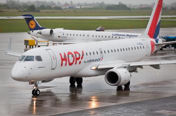 F-HBLC - Air France - Hop! Embraer ERJ-190 (190-100)