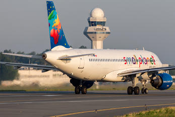 SP-HAF - Small Planet Airlines Airbus A320
