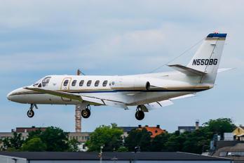 N550BG - Private Cessna 550 Citation II