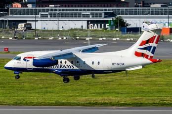 OY-NCM - British Airways - Sun Air Dornier Do.328JET