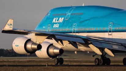 PH-BFM - KLM Asia Boeing 747-400